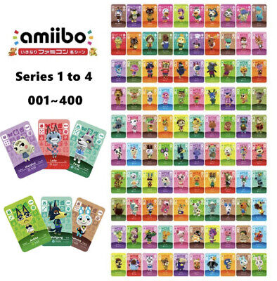 AU10 • Buy *Choose Your Dreamies!* Any Animal Crossing Villager - NFC Amiibo Cards