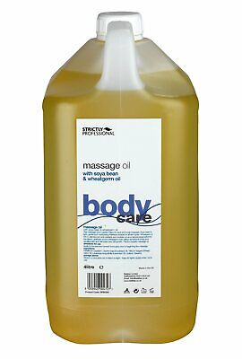 £10.91 • Buy Strictly Professional Massage Oil With Soya Bean And Wheatgerm 500 Ml Or 4 Litre