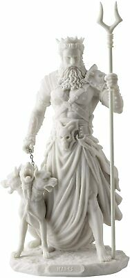 Hades Greek God Of The Underworld With Cerebrus Statue - Figurine - Gift Boxed • 47£