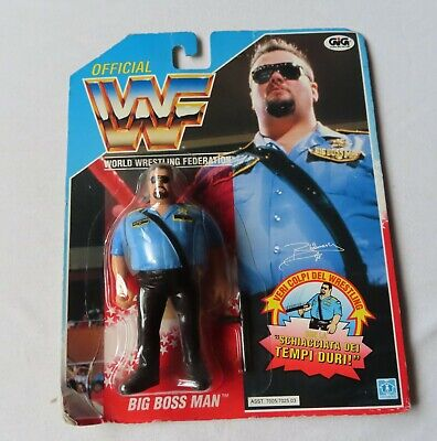 WWF – World Wrestling Federation - Big Boss Man – The Packet Is Not In English • 114.99£