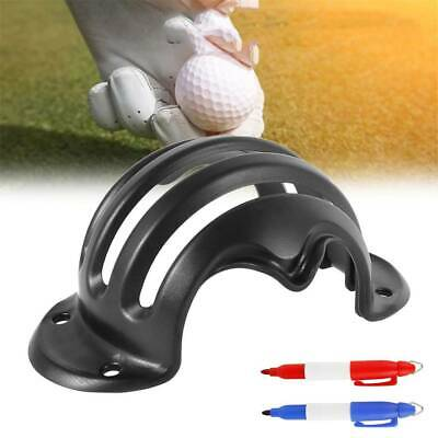 Golf Ball Line Marker Drawing Putting Stencil Template Random With Pen New SD • 3.59£