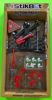 #STIKBOT ACTION PACK ROLE PLAY ACCESSORY LIFE STYLING Zing Global Ltd NIB • 12.15£