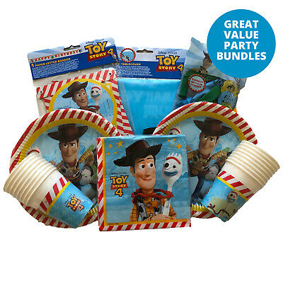 £13.99 • Buy Toy Story Birthday Party Decorations Bundle Party Tableware Set Pack