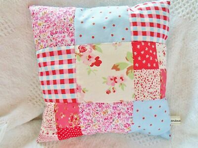 Starter Patchwork Cushion Kit Cath Kidston Fabric Sewing Pattern Beginners EASY  • 5£