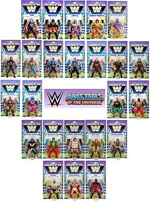 $124.99 • Buy Wwe Masters Of The Wwe Universe Exclusive Wwf Motu Figures Unpunched