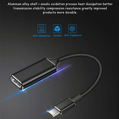 AU26.99 • Buy Usb Type C To Hdmi Cable Adapter Hdmi Adapter Male To Female Converter