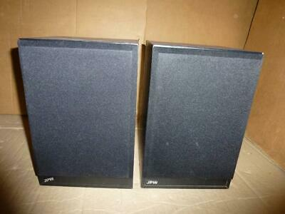 JPW Mini Monitor Speakers-70 W,6 Ohms,87 DB-SUPERB SOUND-Full Working Order. • 39£