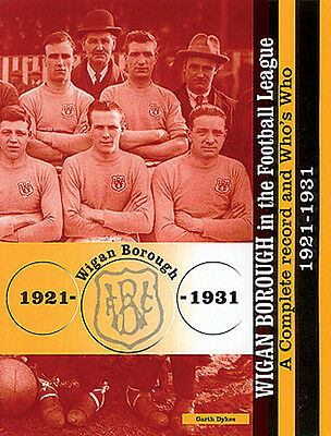 £12 • Buy Wigan Borough In The Football League - A Complete Record And Who's Who 1921-1931