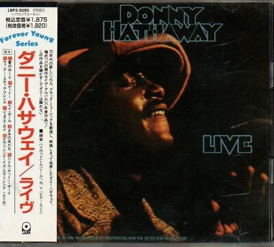 Donny Hathaway Live JAPAN CD With OBI 18P2-3090 • 5.72£