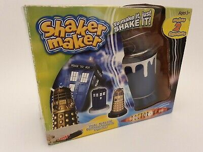 BBC Doctor Who Shaker Maker Cyberman And Tardis Moulds Flair New Damaged Box  • 13.99£