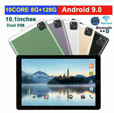 AU137.99 • Buy 10.1  Ultra-thin 4G Tablet PC Android 6+128GB WIFI Dual SIM Triple Camera 2020