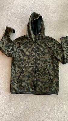 Nike Tech Camo Hooded Zip Track Top - Size L  • 27£