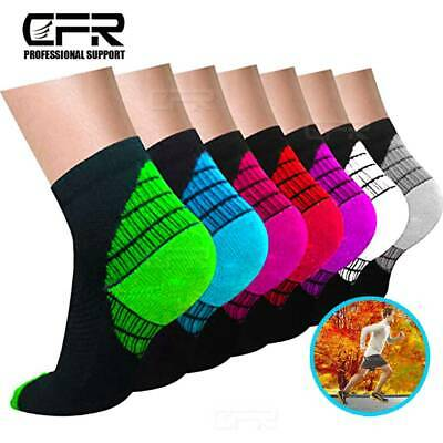 Plantar Fasciitis Socks Compression Foot Sleeves For Sport Arthritis Pain Relief • 6.64£