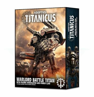AU131.64 • Buy Adeptus Titanicus - Warlord Battle Titan With Plasma Annihilator And Power Claw
