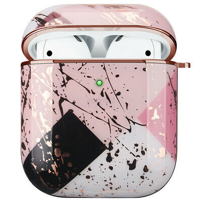 AU20.23 • Buy Apple AirPods 1/2 Marble Gold Case Shockproof Cover Luxury W/ Holder (Asaria) AU