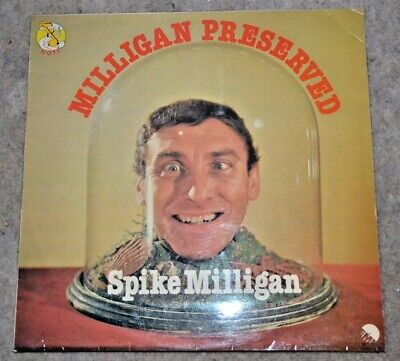 SPIKE MILLIGAN Milligan Preserved LP Comedy The Goon Show BBC TV Q Peter Sellers • 2£