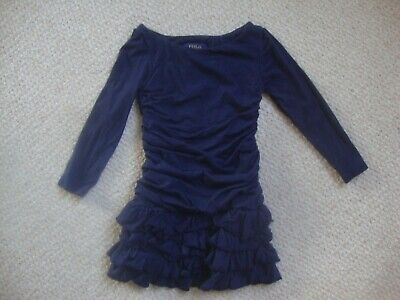 Polo By Ralph Lauren Girl's Navy Dress Age 2 Years • 8£