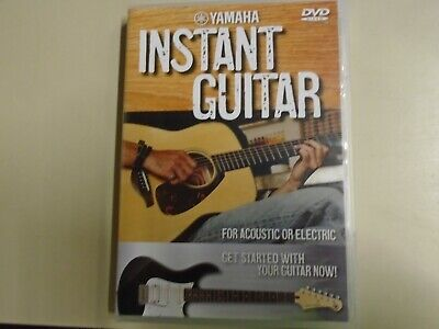 Yamaha Instant Guitar For Electric And Acoustic DVD  • 2£