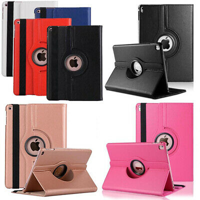 360° Rotating Leather Stand Smart Case Cover For IPad Pro Samsung Huawei Tablet • 6.98£