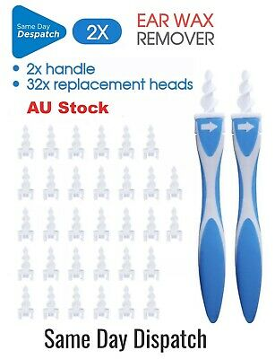 AU13.66 • Buy AU Top Ear Wax Removal Remover Tool Ear Cleaner Q-Grips Pick Swab Handle Tips