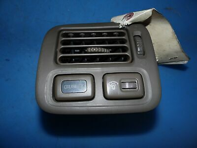 $35 • Buy 96-00 Civic OEM Left Side Dash A/C Ac Air Vent W/ Cruise & Sunroof Switch -Brown