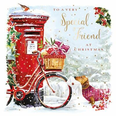 Christmas Card - Special Friend - Delivery Dog - At Home Ling Design Quality NEW • 3.50£