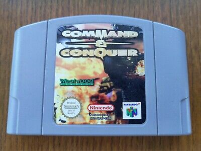 AU49.95 • Buy Command & Conquer For Nintendo 64 - Cleaned, Tested, Working