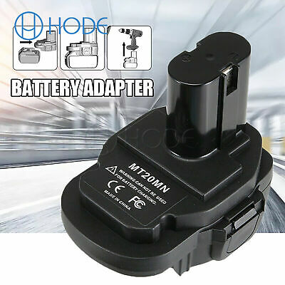 Battery Adapter Converter For Makita 18V Ni Cordless Power Tools Replacement UK • 12.43£