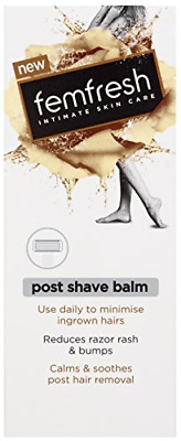 Femfresh - Post Shave Balm - With Blackcurrant Oil, Almond Oil And Aloe Vera - • 7.26£