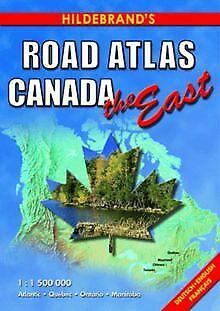 Hildebrand's Road-Atlas Canada, The East (USA & Canad... | Book | Condition Good • 12.02£