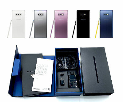 $ CDN497.60 • Buy UNUSED Factory Unlocked Samsung Galaxy NOTE 9 128GB Verizon T-Mobile Cricket ATT