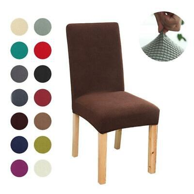 Dining Chair Covers Washable Stretch Chair Slipcover Removable Chair Protector • 3.99£