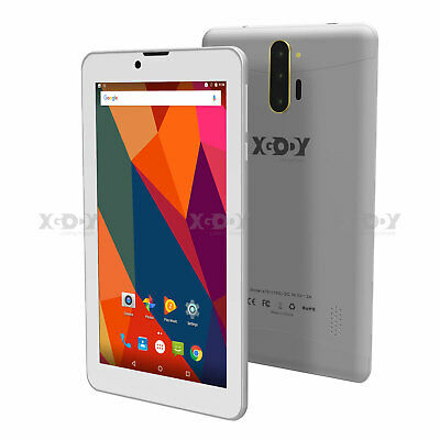 AU82.58 • Buy XGODY Unlocked 3G Phablet Android Tablet PC 16GB ROM GPS Quad-Core Dual SIM WIFI