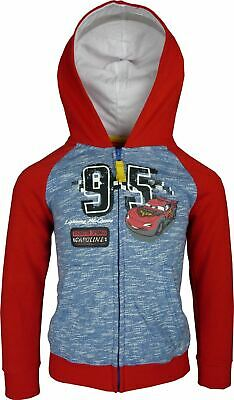 Boys EP1201 Disney Cars Full Zip Hooded Sweatshirt 3-8 Years • 14.90£