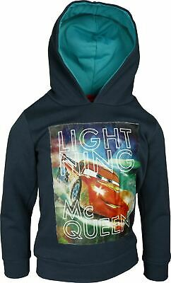 Boys PH1381 Disney Cars Hooded Sweatshirt / Hoodie 3-8 Years • 14.90£