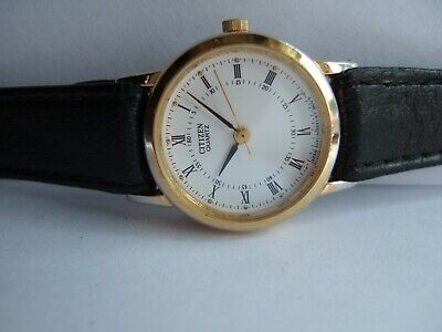 Vintage Women's Citizen [6031-R01207] Gold Plated SANTOS Classic Quartz Watch! • 25£
