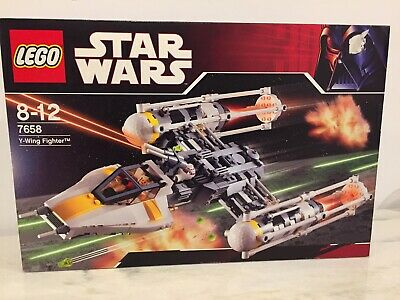 AU179 • Buy LEGO STAR WARS. 7658 Y-WING FIGHTER. 2007 Edition. New Sealed Boxed.