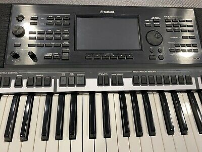 AU62.07 • Buy Schutzfolienset For Yamaha PSR-SX900 Keyboard: Screen And Control Panel Complete