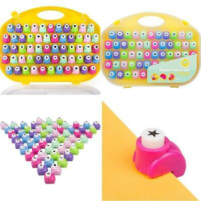 $ CDN57.99 • Buy Scrapbook Paper Punch - 58Pc Mini Paper Hole Punchers W Case - All Different Cra
