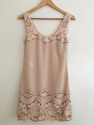 AU34.95 • Buy NWT FOREVER NEW Embroidery Sequin Dress - Size 6