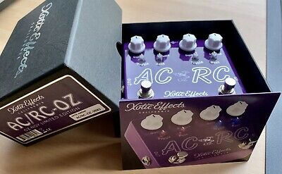Xotic AC/RC-OZ Oz Noy Limited Edition Boost Overdrive Guitar Effect Pedal - MINT • 155£