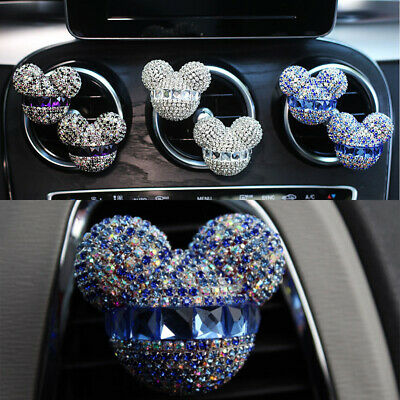 AU17.47 • Buy Mickey Mouse Car Fragrance Air Freshener Perfume Diffuser