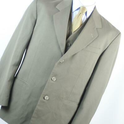 £7.50 • Buy Horne Brothers Mens Green Striped Suit Jacket 40 Chest (Regular)