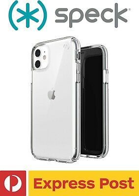 AU99.95 • Buy IPhone 11 SPECK Presidio Stay Clear Drop Protection ShockProof Slim Case