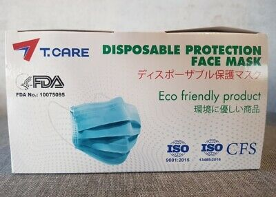 AU55 • Buy Face Mask Disposable 4-Layer -TGA Approved Protective Mouth Filter Cover