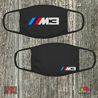 AU30 • Buy BMW M3 Face Mask FOTL Beamer Car Motorcycle Covering Washable 100% Cotton