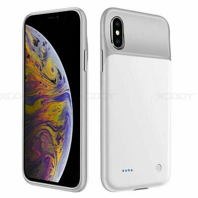 AU34.98 • Buy Ultra-Slim Battery Case Backup Power Bank Charger Cover For IPhone Xs 11 PRO MAX