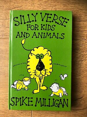 SILLY VERSE FOR KIDS AND ANIMALS By SPIKE MILLIGAN-BOOK CLUB- 1984-£3.25 UK POST • 29.99£