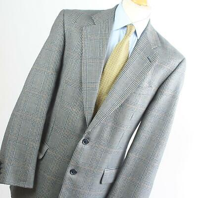 £7.50 • Buy Horne Brothers Mens Blue Check Wool Suit Jacket 40 Chest (Long)
