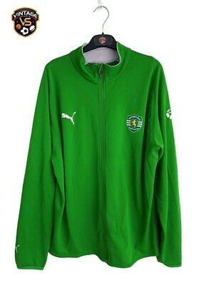 Sporting CP Football Tracksuit Top Jacket 2006-2007 (L) Puma Portugal Shirt • 17.99£